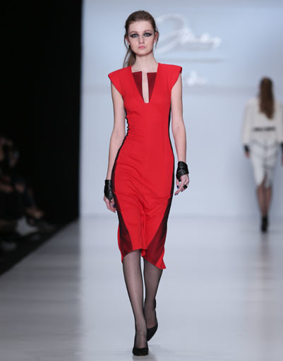 Показ коллекции Dmitry Sholokhov for O.Jen осень-зима 2013/14 на Mercedes-Benz Fashion Week Russia