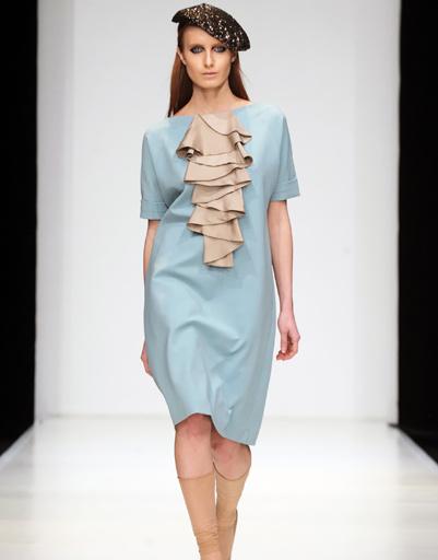 Mercedes-Benz Fashion Week Russia: Sultanna Frantsuzova, осень-зима 2012/13