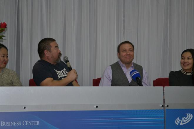 Георгий Дронов в Иркутске
