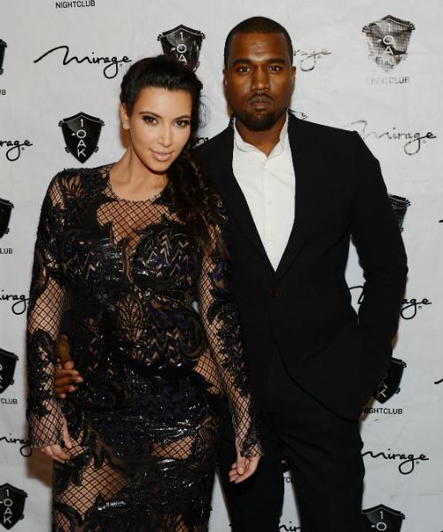 Ким Кардашьян и ее супруг Канье Уэст