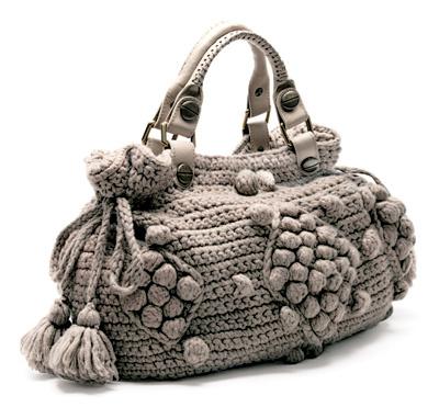 Шерстяная «Дублин» крупной вязки — одна из 14 вариаций сумок от Gerard Darel.