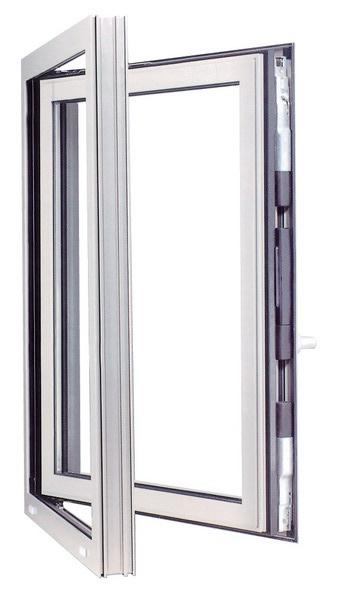 «Умное» алюминиевое окно от Schueco International.