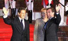 Лидеры «большой тройки» встретились во Франции