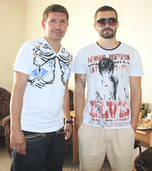 Сергей и Владимир Кристовские