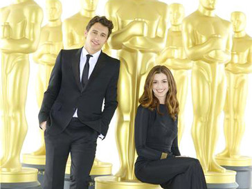 Джеймс Франко (James Franco) и Энн Хэтэуэй (Anne Hathaway) - к Оскару готовы
