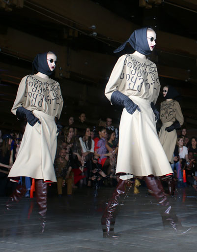 Коллекция BEssARION осень-зима 2013/14 на Mercedes-Benz Fashion Week Russia