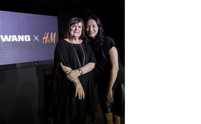 Александр Вэнг с креативным директором H&M