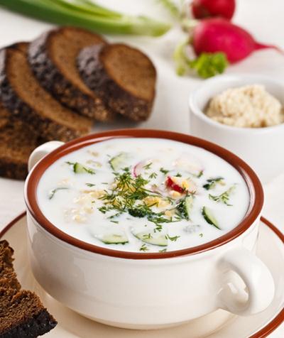 Готовим холодные супы