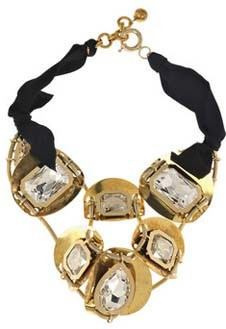 Ожерелье Lanvin.