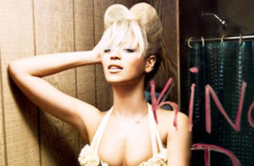 Бейонсе (Beyonce) смело примеряет новые образу и пробует себя в новых ролях.