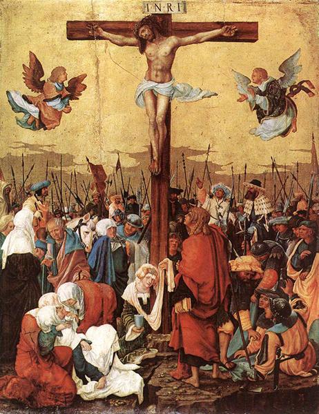 Альбрехт Альтдорфер «Распятие», 1520 год