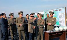 Северокорейский лидер Ким Чен Ир присвоил сыну и дочери генеральские звания