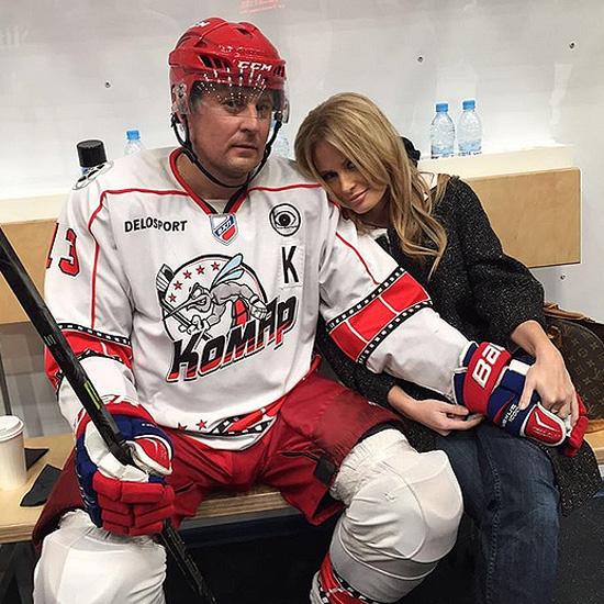 Секс с хоккеистом