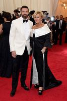 Хью Джекман с женой, 2014 год