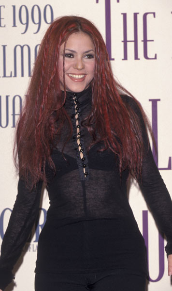 Шакира, 1999 год