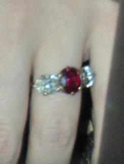 Обручальное кольцо Джессики Симпсон (Jessica Simpson)