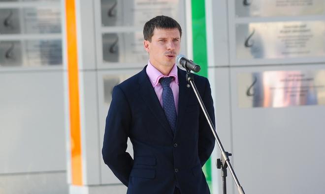 Двукратный олимпийский чемпион по биатлону Евгений Устюгов