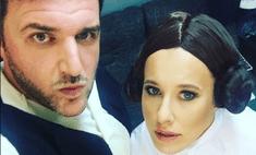Собчак вела VIP-вечеринку в купальнике принцессы Леи