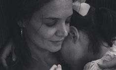 Милота дня: Кэти Холмс с дочкой Сури
