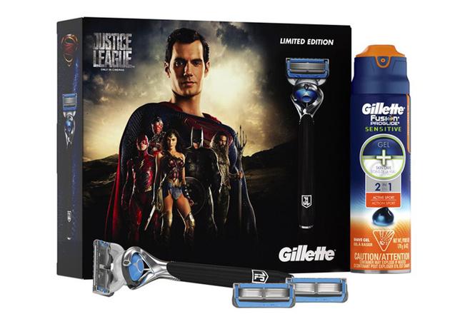 Набор «Лига справедливости», Gilette, цена по запросу