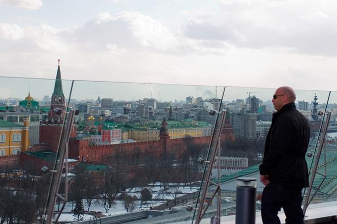 Вин Дизель обозревает Москву