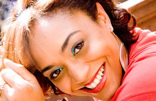 Американская вокалистка Карен Джей