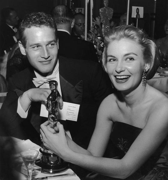 Пол Ньюман с супругой Джоан Вудворд