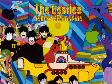 Мультипликационные The Beatles 60-х годов
