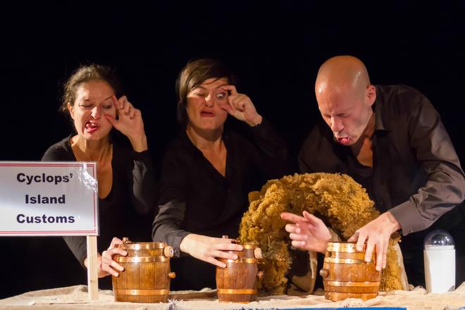 Спектакль «Dustpan Одиссей»
