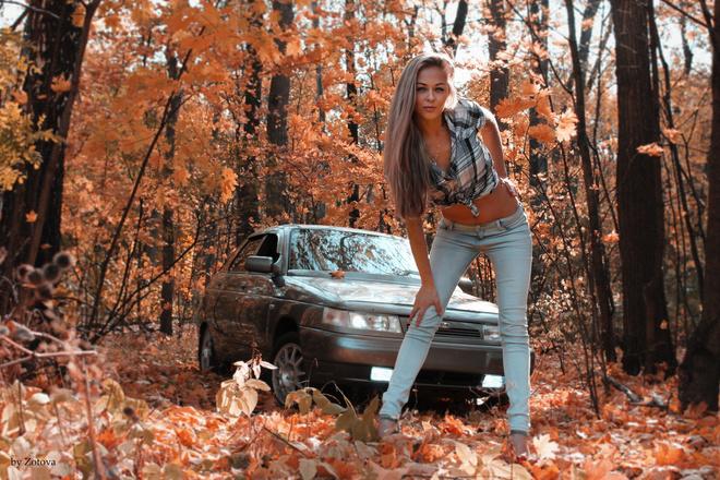 Красотки за рулем: самые прекрасные автоледи Уфы. Голосуй!