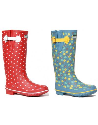 Резиновые сапоги ярких расцветок поднимут настроение в дождливый день