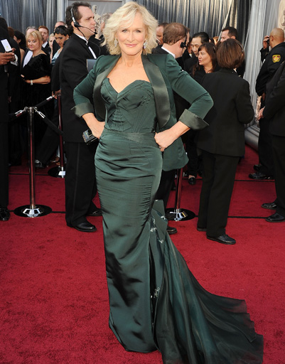 "Гленн Клоуз (Glenn Close) на ""Оскаре-2012"""
