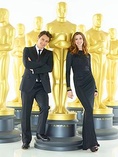 Энн Хэтэуэй (Anne Hathaway) и Джеймс Франко (James Franco)