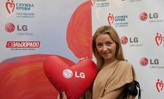 Татьяна Навка призывает сдавать кровь