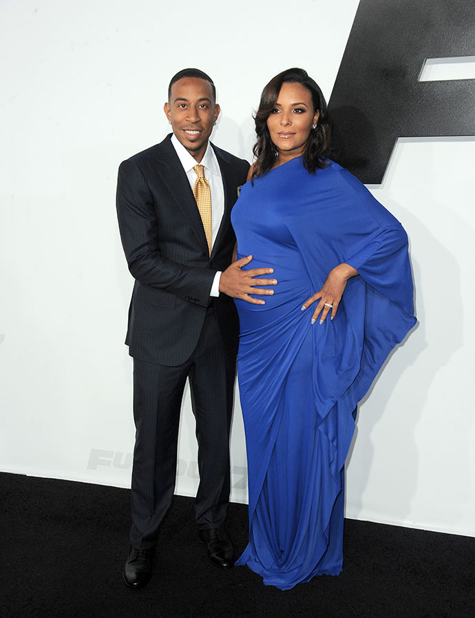 Кристофер Бриджес (Ludacris) с супругой