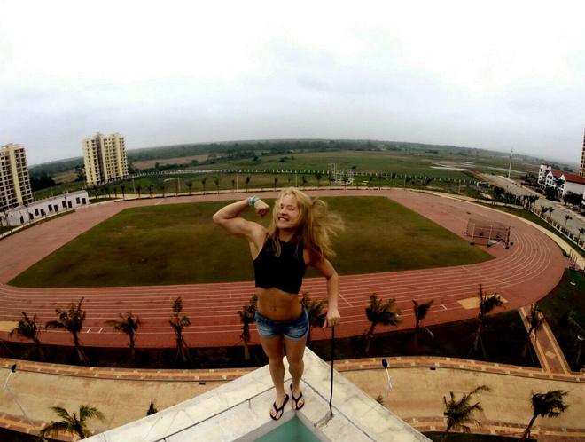 Валерия Никонова прыжки с шестом