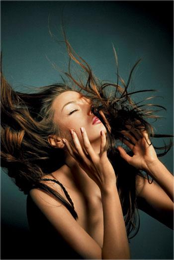 Модные укладки волос 2013
