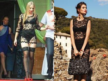 Учница 11-го класса решила прийти на последний звонок в прозрачном наряде в духе Dolce&Gabbana