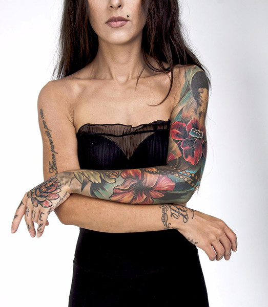 Елена Осипова, Ural Tattoo Queen 2015