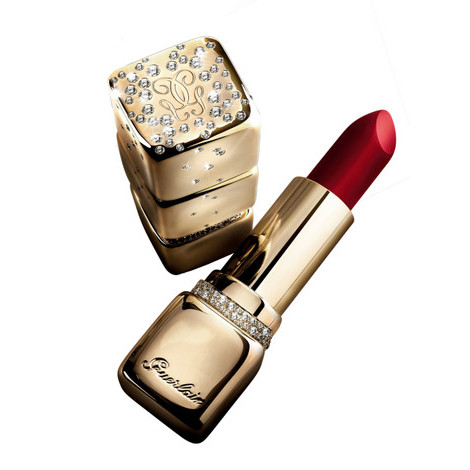 Guerlain, kisskiss, gold lipstick фото