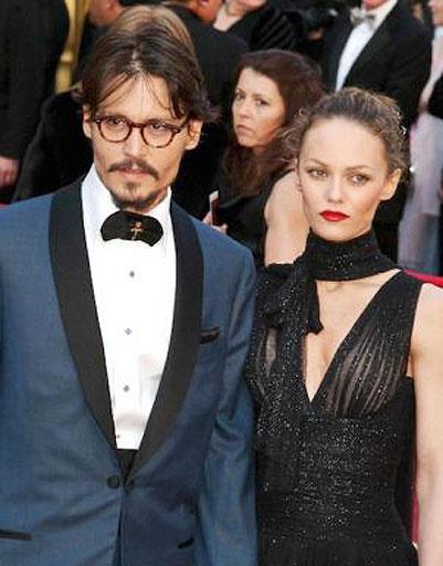 Джонни Депп (Johnny Depp) и Ванесса Паради (Vanessa Paradis)
