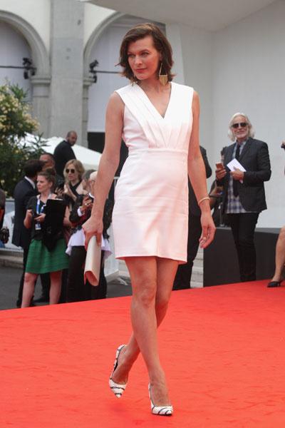 Милла Йовович на 71-ом Венецианском кинофестивале