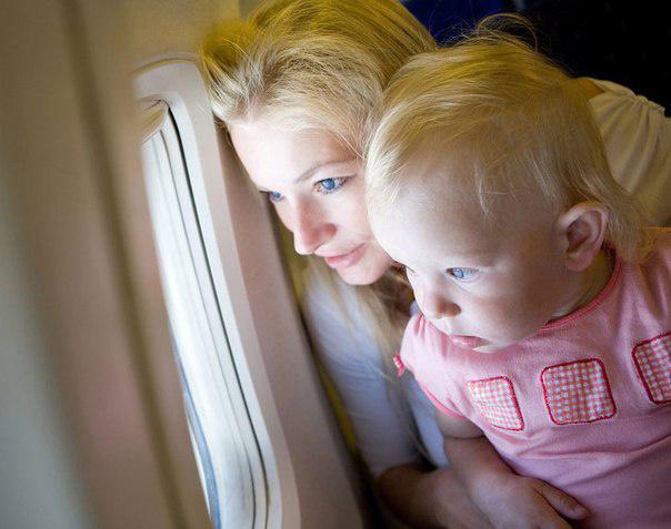 путешествие с малышом до года
