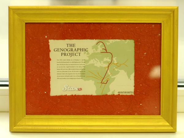 Подарок для Собчак - карта предков