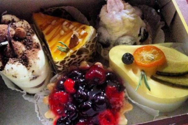 Пирожные Ксении Бородиной
