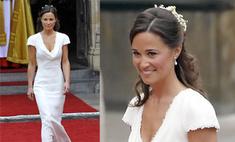 Пиппа Миддлтон затмила сестру на королевской свадьбе