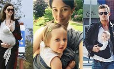 Звезды тоже делают это: 10 знаменитостей, которые носят слинги