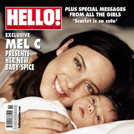 Мел Си и ее дочка Скарлетт