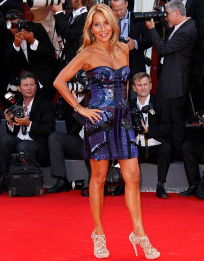 Джо Скуилло (Jo Squillo) на 69-ом Венецианском кинофестивале