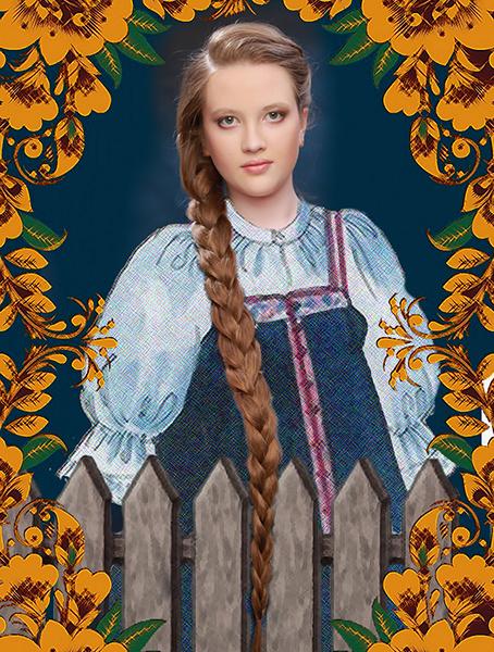 Ксения Шамагулова, «Уральская краса – русская коса», фото